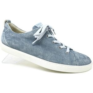 Paul Green Denim Sneakers Size Lace Up 11.5 US